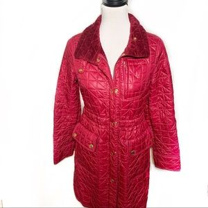 🧷Marc by Marc Jacobs•Maroon Puffer Jacket•XS